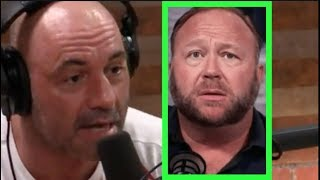 Joe Rogan - I Can't Have Alex Jones Back on The Podcast (Right Now)