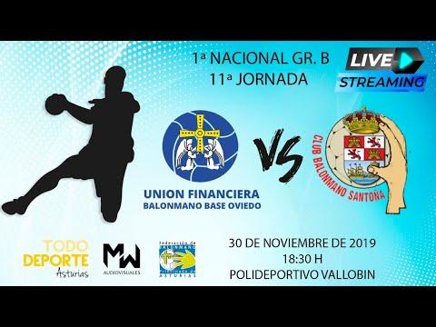 🖥 Directo - Balonmano - Unión Financiera base Oviedo Vs. Santoña BM