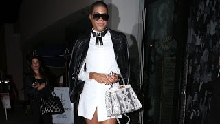 EJ Johnson Looking Fabulous At Catch For Kendall's B-Day Bash