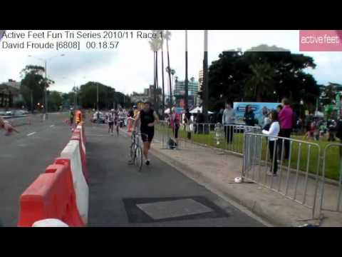 David Froude 6808 Active Feet Fun Tri Series 2010 11 Race 1