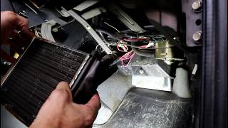 niva Chevrolet   Нива Шевролет Замена радиатора печки