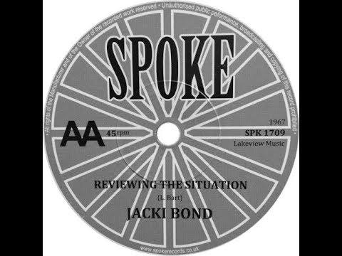 JACKI BOND Reviewing The Situation 1967 club soul beat jazz dancer