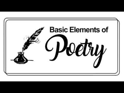 Basic Elements of Poetry - YouTube