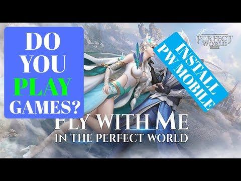 How To Install Perfect World Mobile English Version MMORPG Outside Europe. Updated Description Links