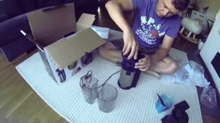 unboxing panasonic mj l500 slow juicer