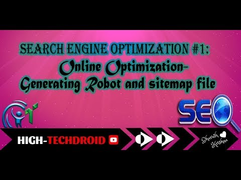 Download Search Engine optimization #1:Online Optimization-Generating Robots and sitemap file