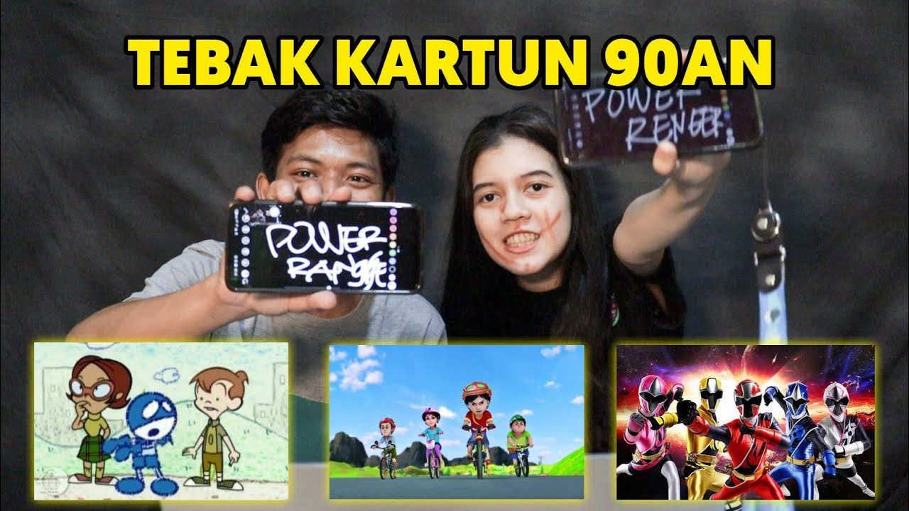 CHALLENGE TEBAK KARTUN 90AN BERSAMA ISTRI !!