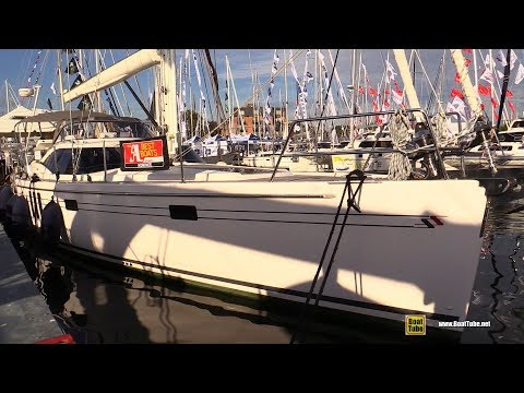 2017 Southerly 540 Sailing Yacht - Deck and Interior Walkaround - 2017 Annapolis Sail Boat Show