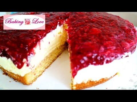 Rezept Himbeer Schmand Torte Tooootaaal Lecker Youtube