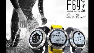 видео Часы для плавания