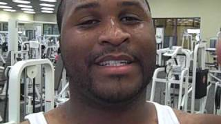 Gabe Watson Arizona Cardinals on Colloidal Silver and Gold 3.5hr workout.AVI