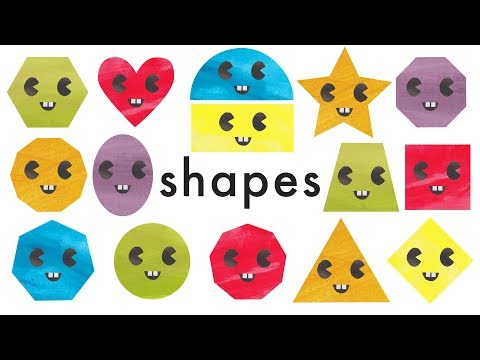 Learn Shapes for Kids - Learn Geometric Shapes (Recognising Shapes)