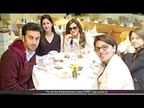 Katrina Kaif dines with Ranbir Kapoor and Neetu Singh