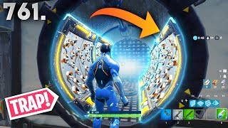 *NEW* PORTAL TRAP TRICK!! - Fortnite Funny WTF Fails and Daily Best Moments Ep. 761