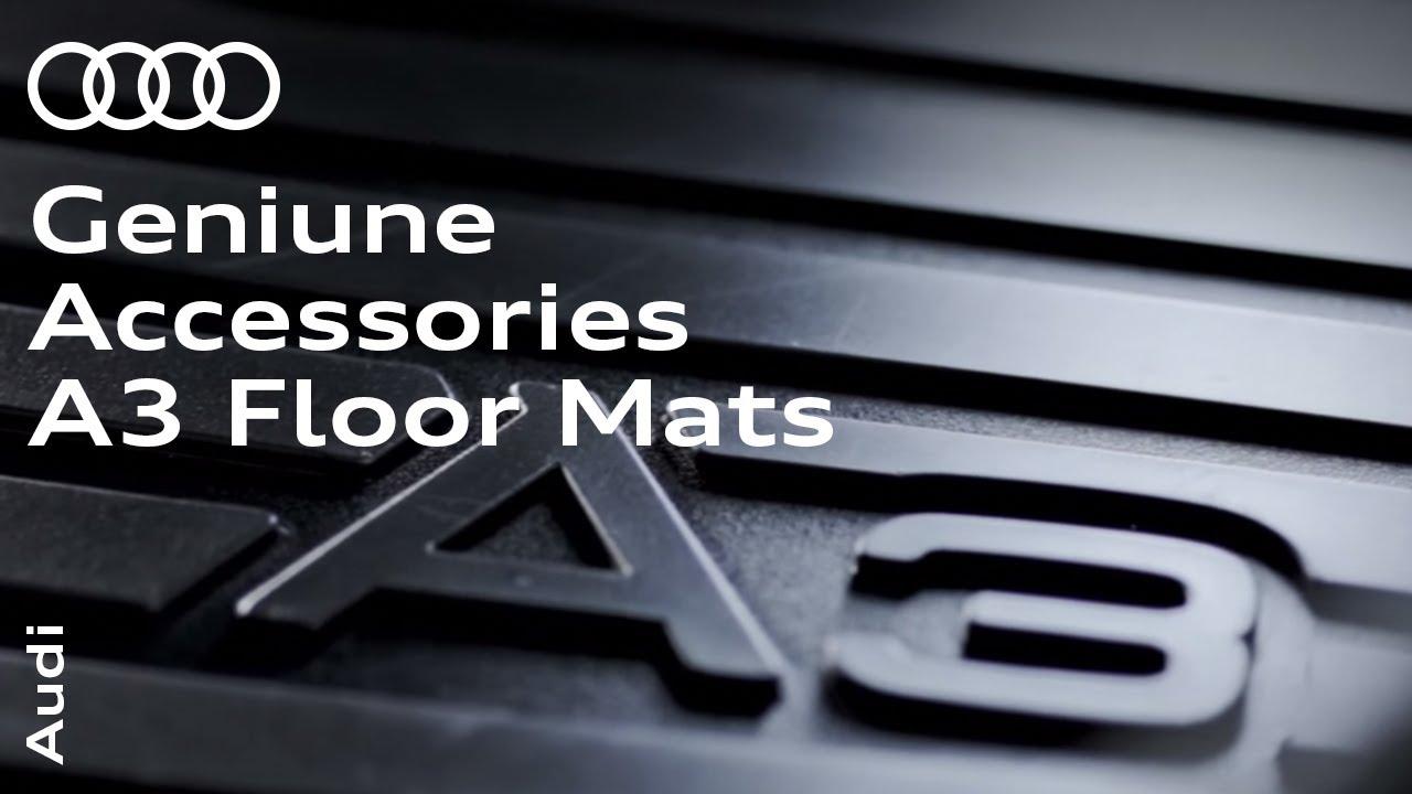 Audi Genuine Accessories A3 Floor Mats Youtube