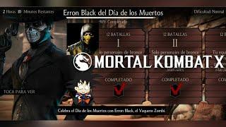 Mortal Kombat X Android Desafio / Challenge Erron Black del Dia de los Muertos Normal