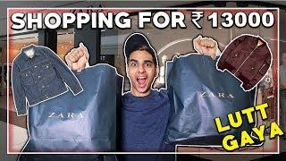 OMG 😱HUGE ZARA shopping haul for MEN! Indian men's fashion/try on haul | LAKSHAY THAKUR