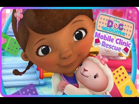 Doc McStuffins: Mobile Clinic Rescue - IPad App Demo For Kids
