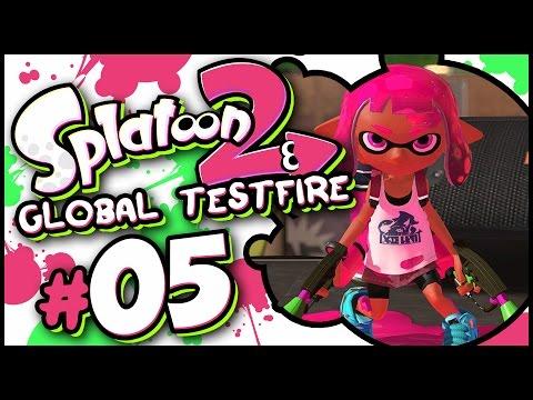 Splatoon 2 - Global Testfire Part 5 LIVE! [Nintendo Switch Gameplay]