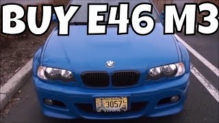 E46 M3 - Shopping For a BMW E46 M3 - VLOG