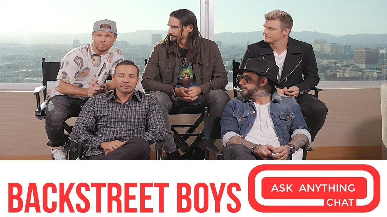 Backstreet Boys Announce 2019 World Tour Youtube