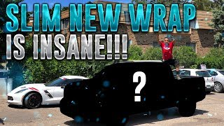 TALLGUYCARREVIEWS TRUCK WRAP IS INSANE!!