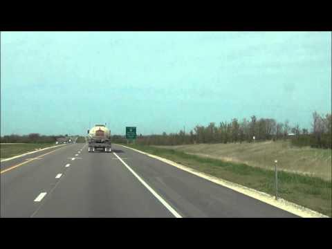 Illinois - Interstate 39 North - Mile Marker 80-90 (5/2/12)