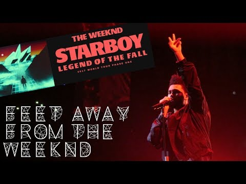 FEET AWAY FROM THE WEEKND! STARBOY LEGEND OF THE FALL PHASE 1 CHICAGO