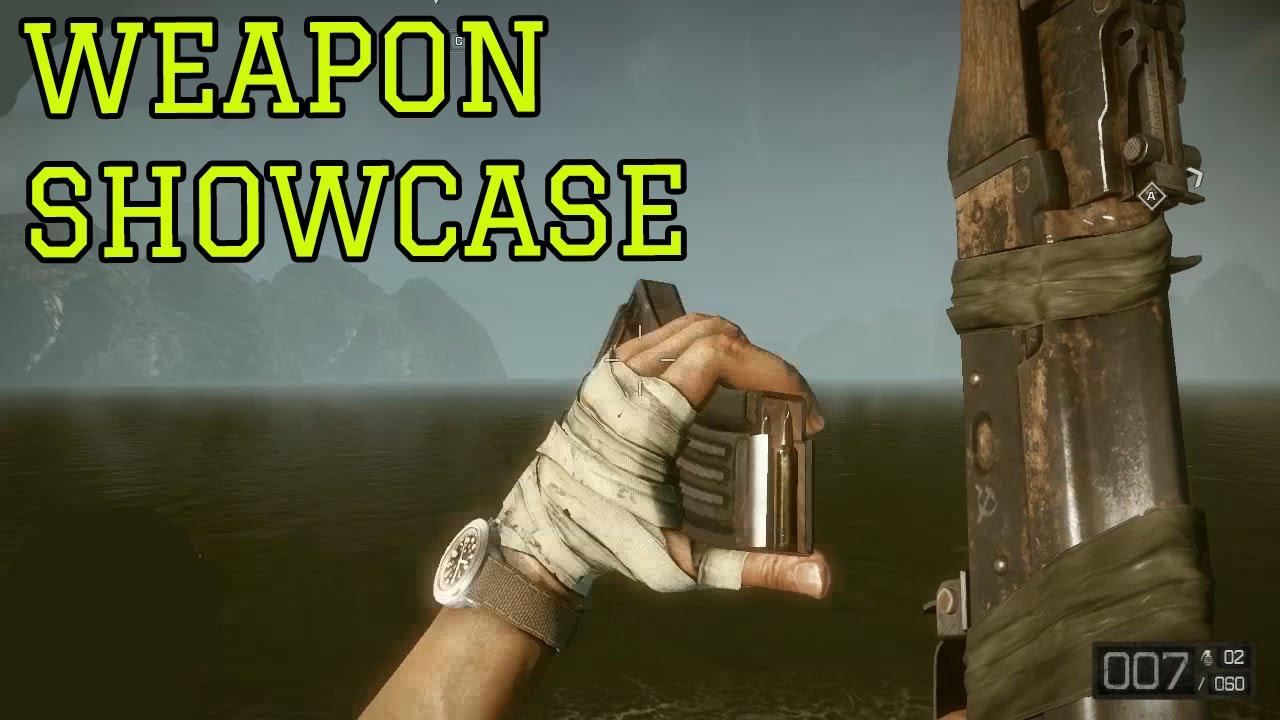 Battlefield Bad Company 2: Vietnam - All Weapons Showcase ...