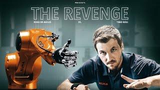 The Revenge: Timo Boll vs. KUKA Robot – Teaser