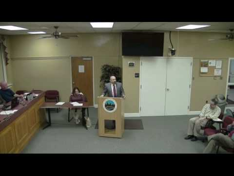 Georgetown City Council Meeting October 24, 2016