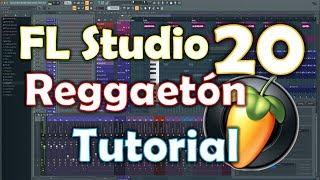 Cómo hacer una pista de reggaeton en Fl studio 20 - Fácil y rápido