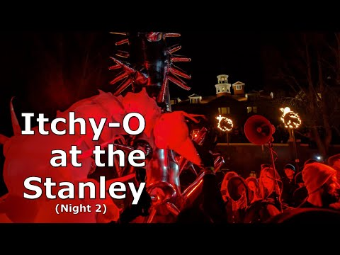 Fire at the Stanley Hotel! - Itchy-O LIVE!