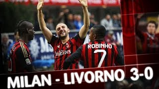 Video Gol Pertandingan AC Milan vs Livorno