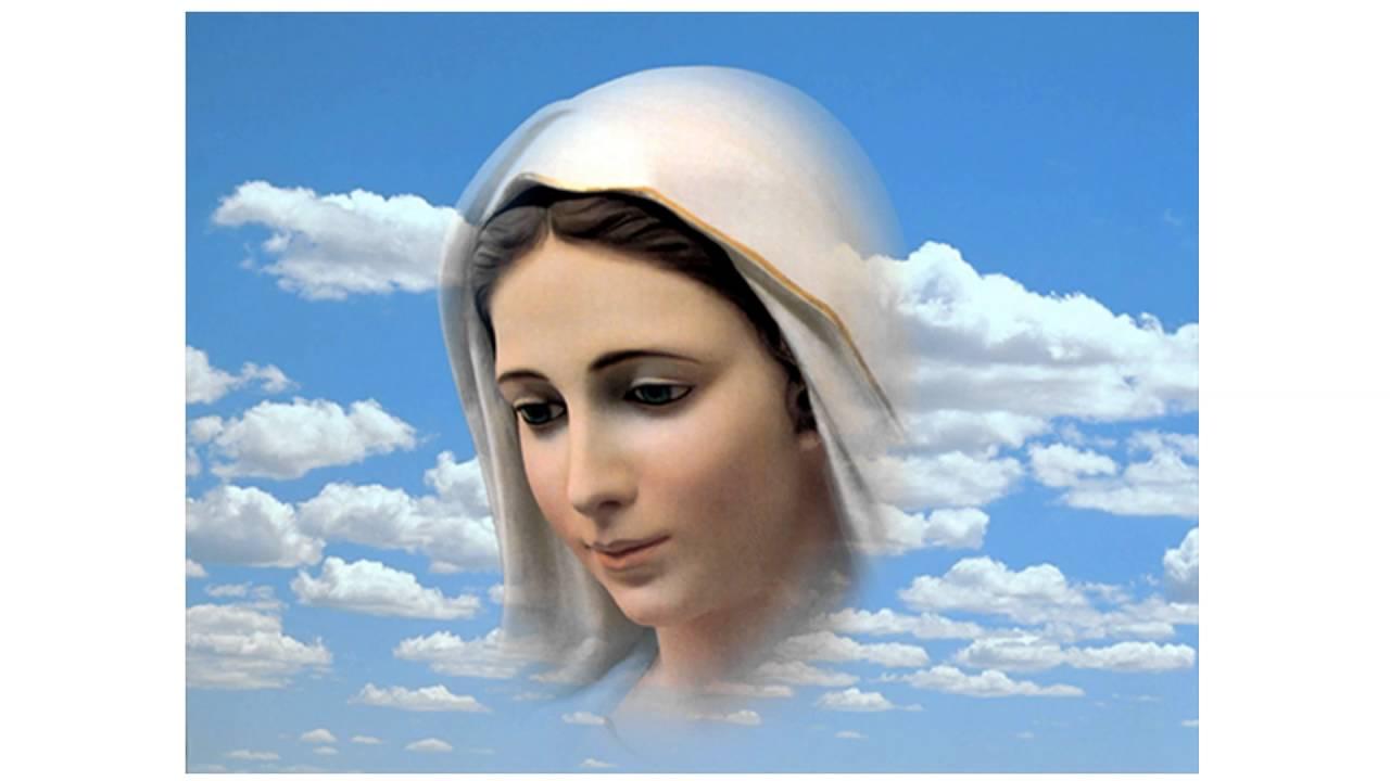 Znalezione obrazy dla zapytania matka boża medjugorie
