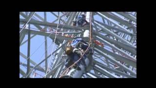 架空送電線工事・ラインマン「真の技術屋集団」の様子をご紹介します。