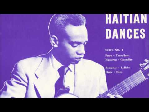 Haitian Dances (Frantz Casseus) (1954, vinyl)