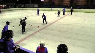 2014 Australian Broomball Nationals - Game 21 - ACT vs NSW