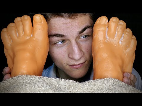 ASMR🦶Realistic Foot Massage!! (700k)