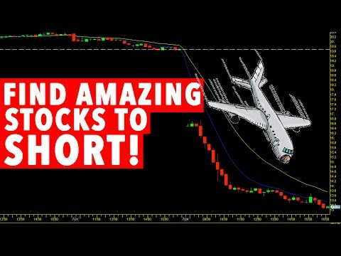 How To Find Stocks To SHORT! DAY TRADING $HIBB 30% DROP