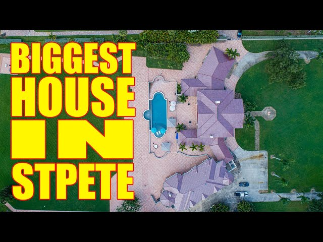 Biggest House In St.Pete