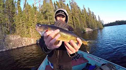 CATCHING HUGE WALLEYES IN CANADA 2017