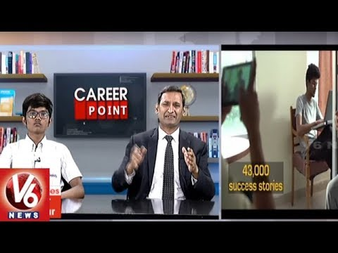 Career Point | Preparation For Inter & Competitive Exams | Deeksha The Trusted Name Of Edu | V6