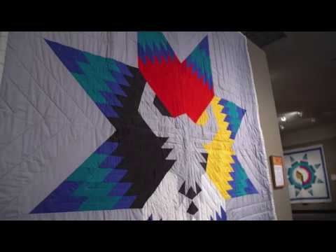 Quilts of the Lakota Exhibit at The National Quilt Museum