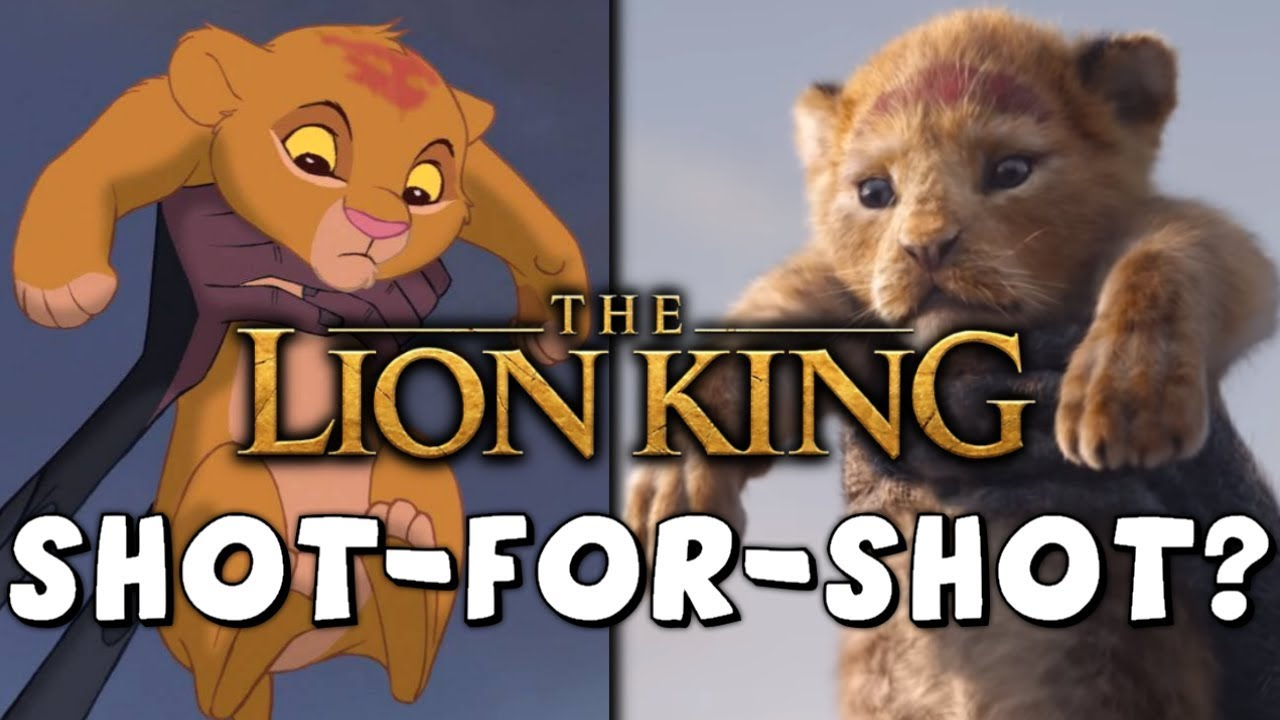 Is The Lion King 2019 A Shot For Shot Remake
