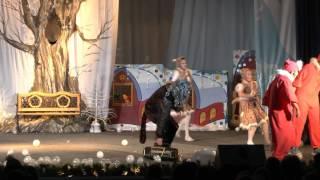 """Новогодняя сказка 2014 """"Волк и семеро козлят"""""""