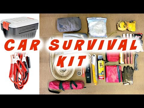 25 Must Have Items for Your Car Emergency Kit pt2