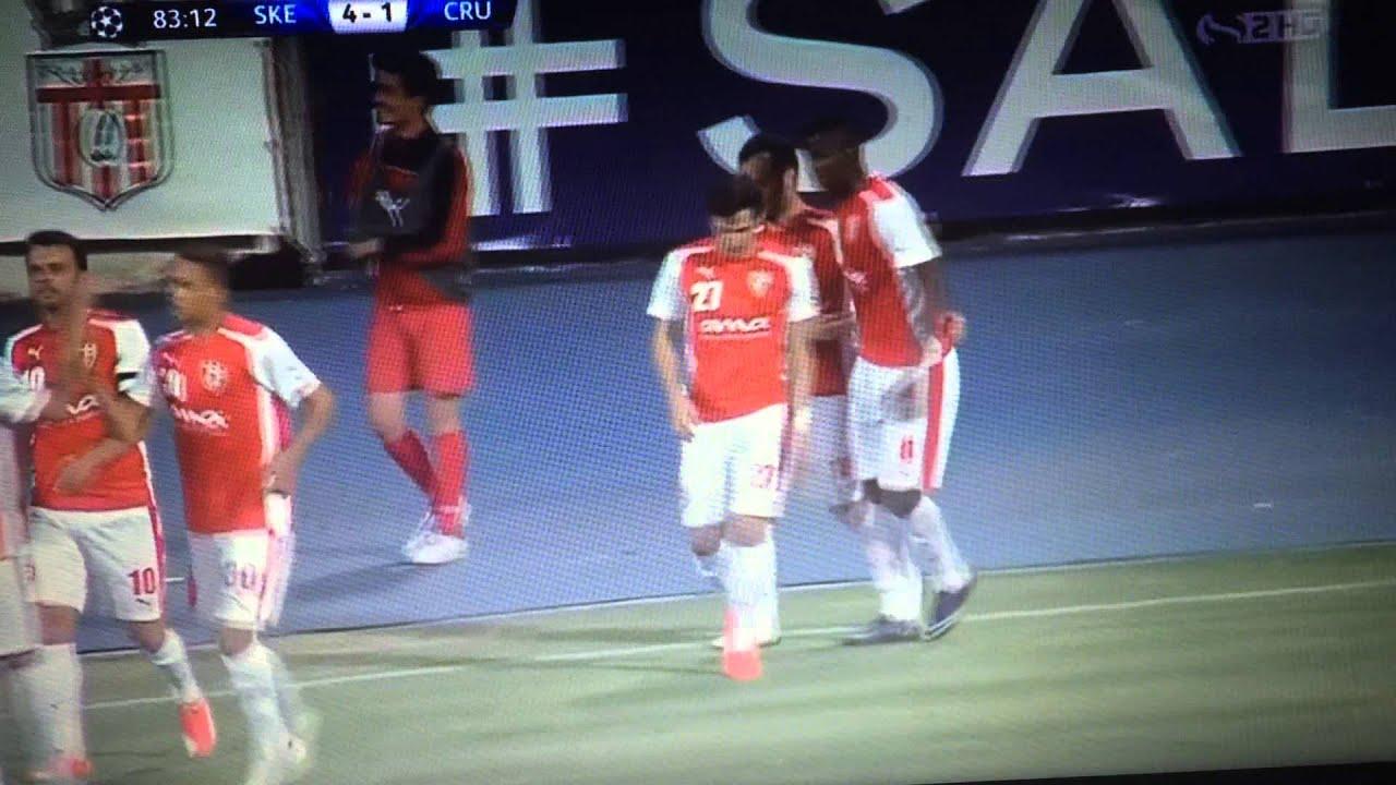 Download Hamdi Salihi Goal - KF SKENDERBEU vs CRUSADERS FC 4-1  UCL Second qualifying round