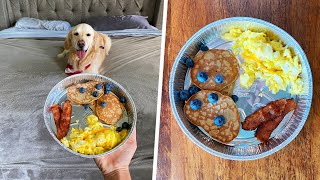 MAKING BREAKFAST IN BED FOR OUR DOGS! (Super Cooper Sunday #260)