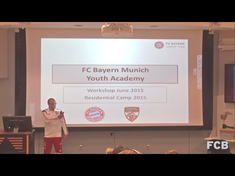 FC Bayern München - Youth Academy Structure - 2015